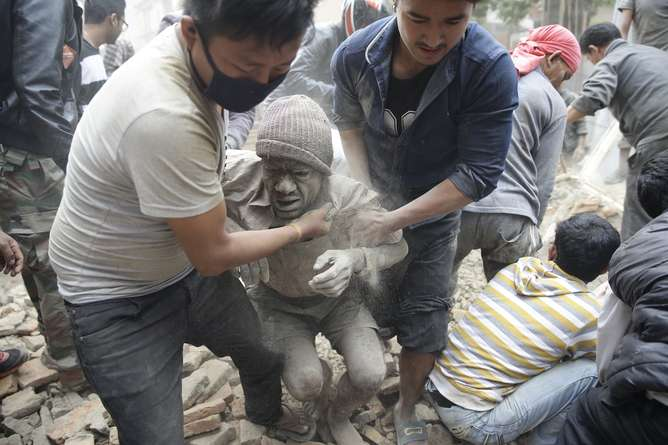 Nepal shows its vulnerability after devastating earthquake