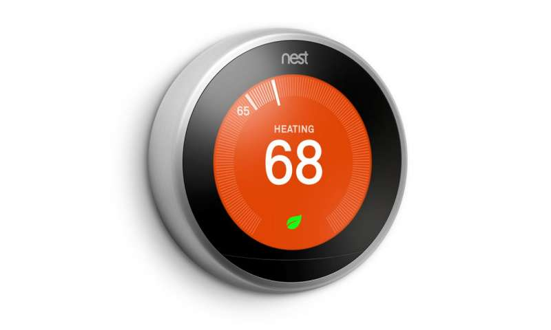 Nest thermostat gets new look
