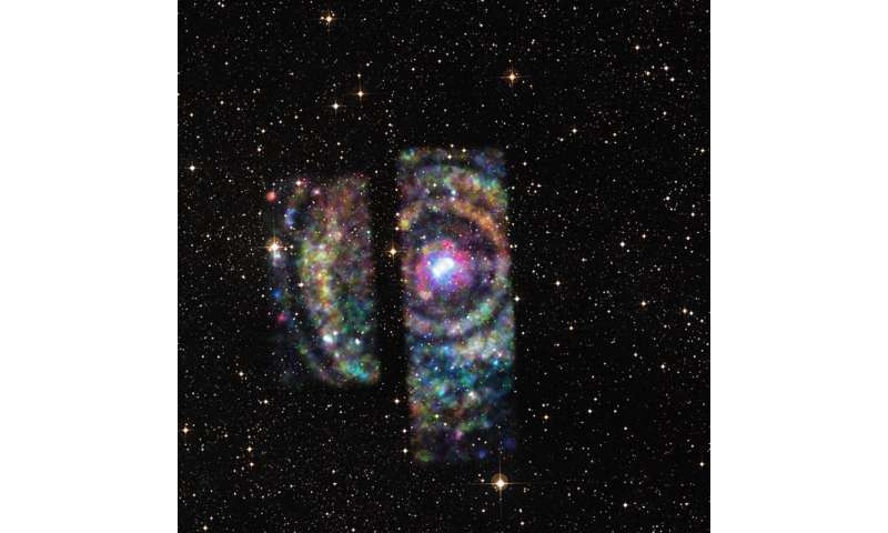 Neutron star's echoes give astronomers a new measuring stick