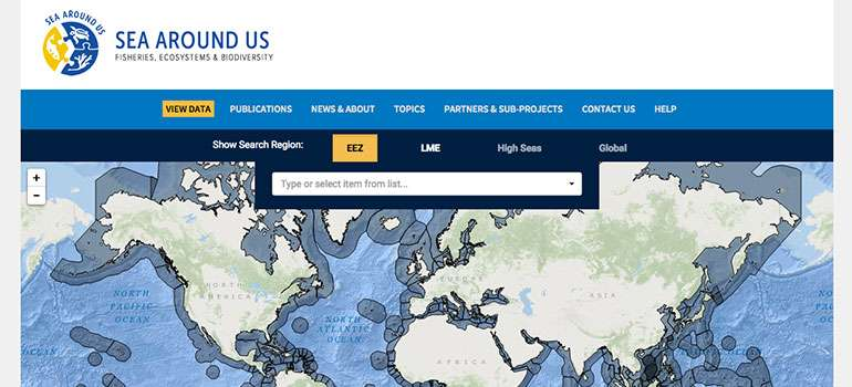 New data on reported and unreported marine catches now available online