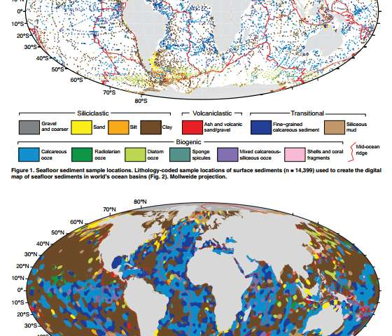 Site Map Digital: New Digital Seafloor Map Provides Answers And More Questions