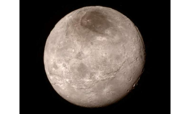 New Horizons probes the mystery of Charon's red pole