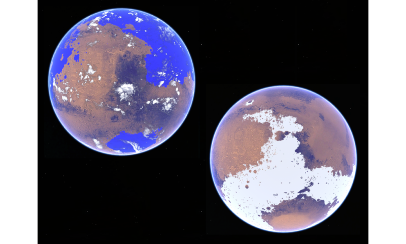 New study favors cold, icy early Mars