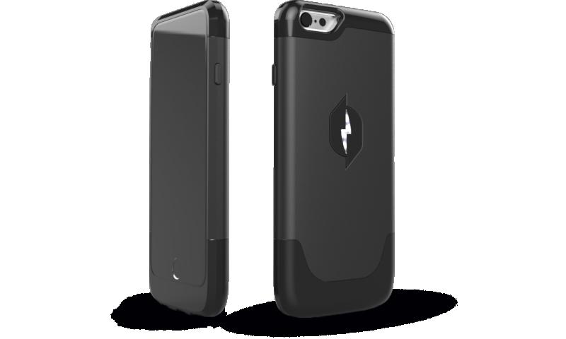Nikola Labs phone case harvests back wasted energy
