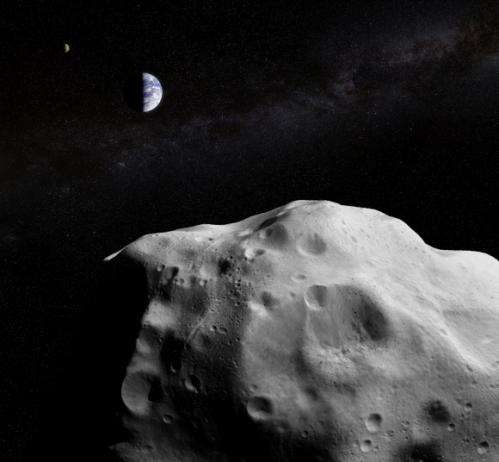 """No, a giant asteroid isn't going to """"skim"""" Earth on Friday"""