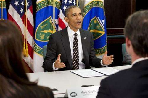 Obama drives ahead on climate with government emissions cuts (Update)