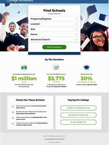 Obama promotes online search tool with college-specific data
