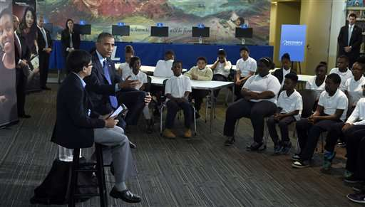 Obama pushes reading through e-book, library initiatives