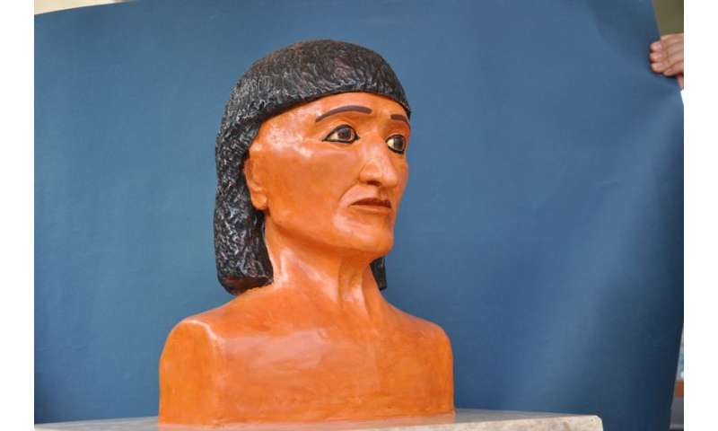 Oldest Pharaonic mummy from the Museum of Florence finally has a face