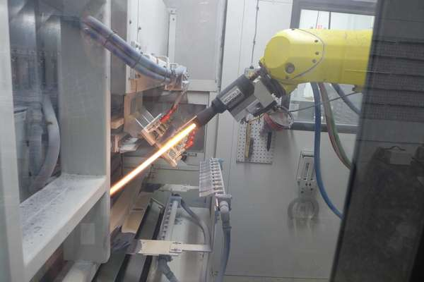 One hot idea: Thermal spray makes metal better