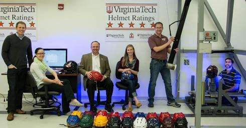 Only 1 of 32 hockey helmets tested earn 3-star rating
