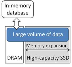 Optimized software-controlled solid-state drive for big data processing