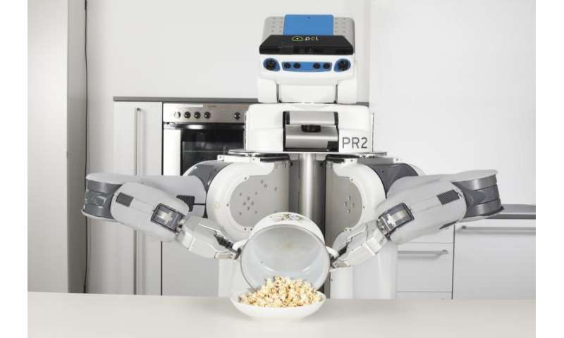 Pancake-making PR2 spells teachable future in robotics