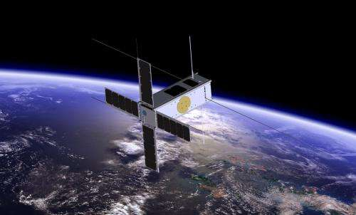 Picasso CubeSat investigates upper layers of the atmostphere