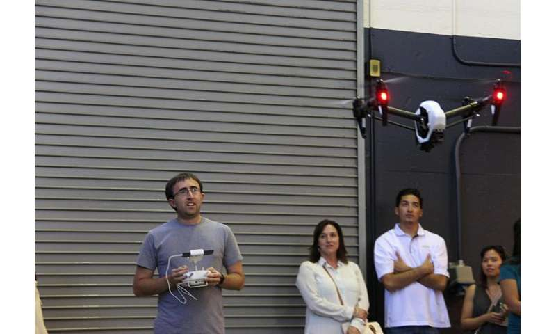 Pioneering air traffic management system aims for safer drone air traffic