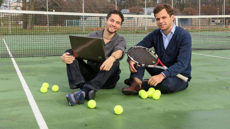 Playing tennis on a smart court