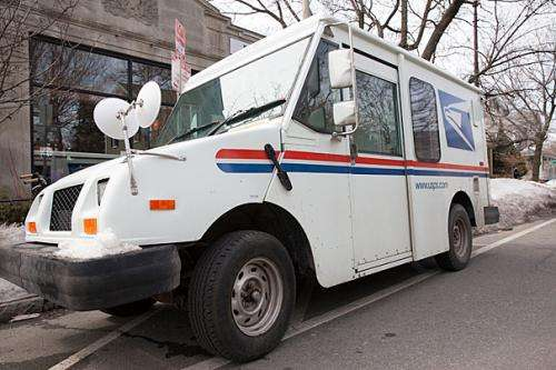postal service looks to improve on 9 miles per gallon in
