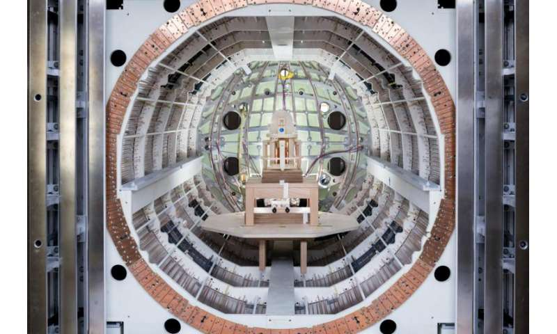 Probing the secrets of the universe inside a metal box