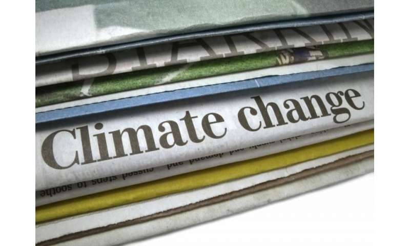 Public views vary on climate change based on science, political news platforms