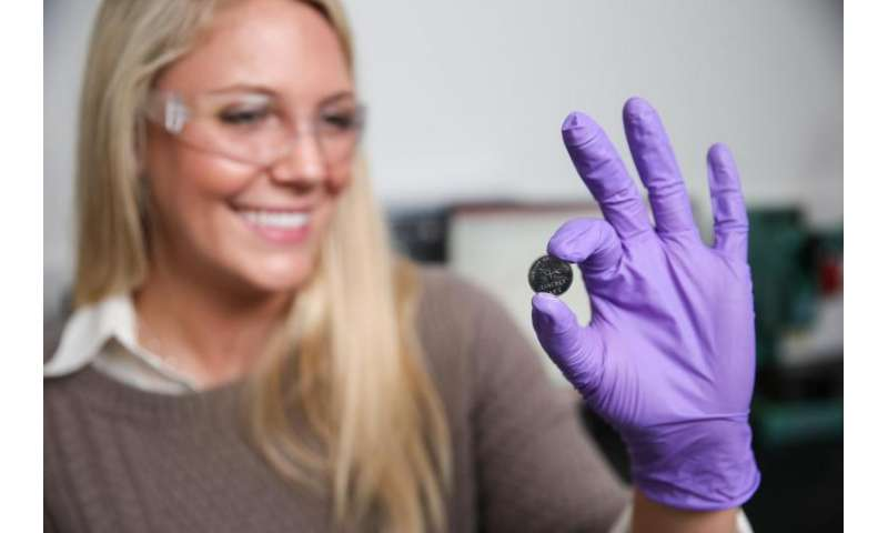 Quantum dots made from fool's gold boost battery performance