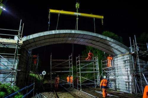 Queen's University engineers develop world's longest 'flat pack' arch bridge