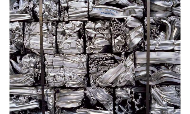 Recycling aluminium, one can at a time