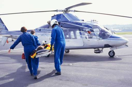 Reducing aeromedical transport for traumas saved money and lives
