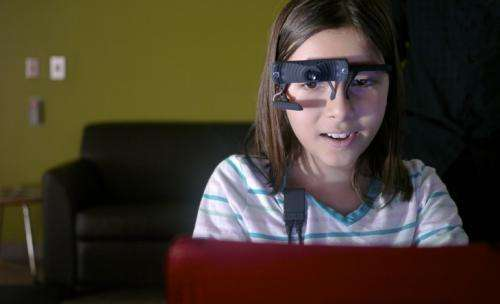 Researcher looks to eye-tracking device to better understand anxiety in children