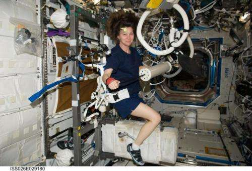 Resolving to stay fit in space and on Earth