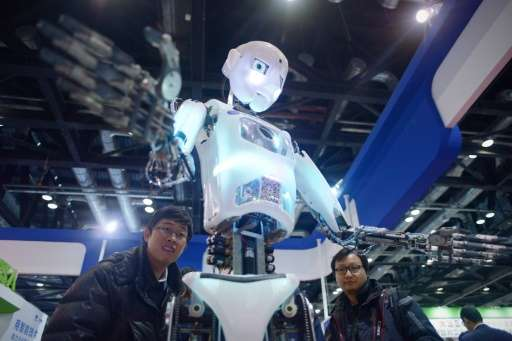 """Robots have captured China's imagination. From Transformers to Baymax, the star of Disney's movie """"Big Hero 6"""", Chines"""