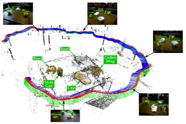 Robots' maps of their environments can make existing object-recognition algorithms more accurate