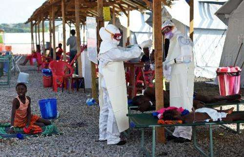 Rumors spread on Facebook and Twitter that an Ebola patient had been identified in Britain, and another that the disease had bee