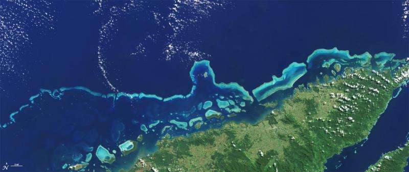 Satellites enable coral reef science leap from Darwin to online
