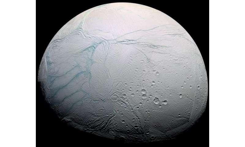 Saturn's icy moon Enceladus