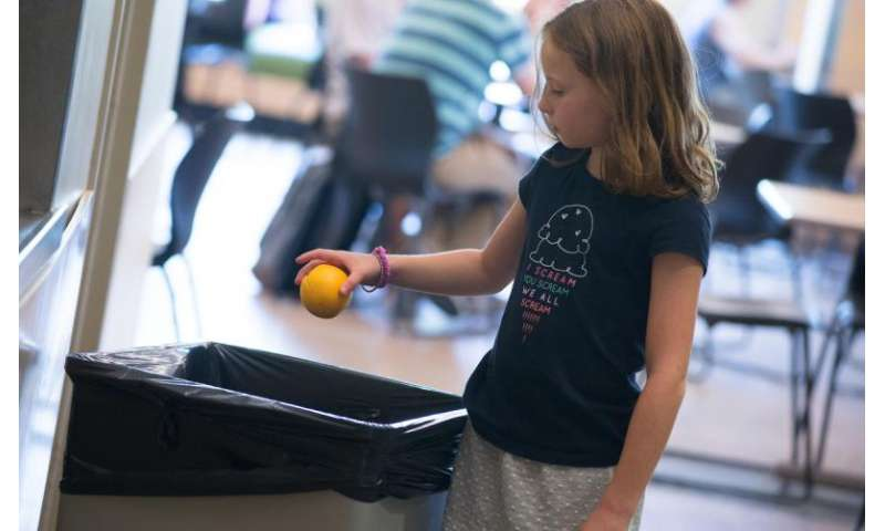 School lunch study: Visual proof kids are tossing mandated fruits and veggies in trash