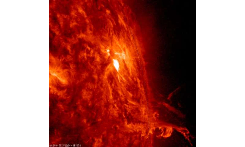 SDO sees active region outbursts
