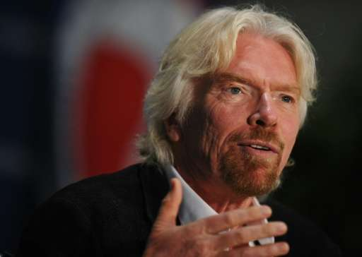 Sir Richard Branson has called for an end to subsidies for dirty fuels and oil drilling in the Arctic, and for a cap on coal and