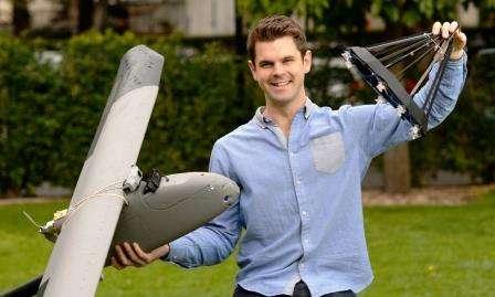 Sky-high refuelling for UAVs