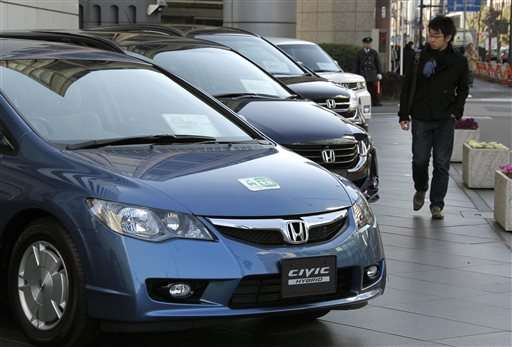 Slow sales cause Honda to scrub natural gas, hybrid Civics
