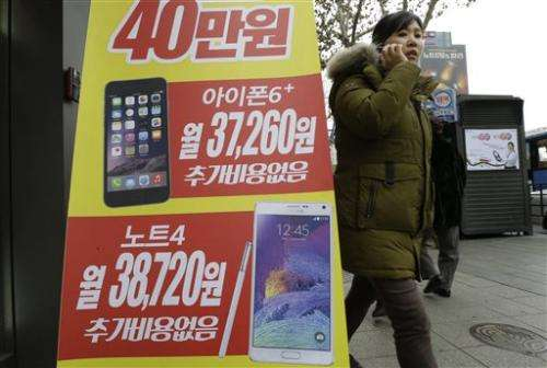 Smartphone Snapshot: Samsung getting squeezed