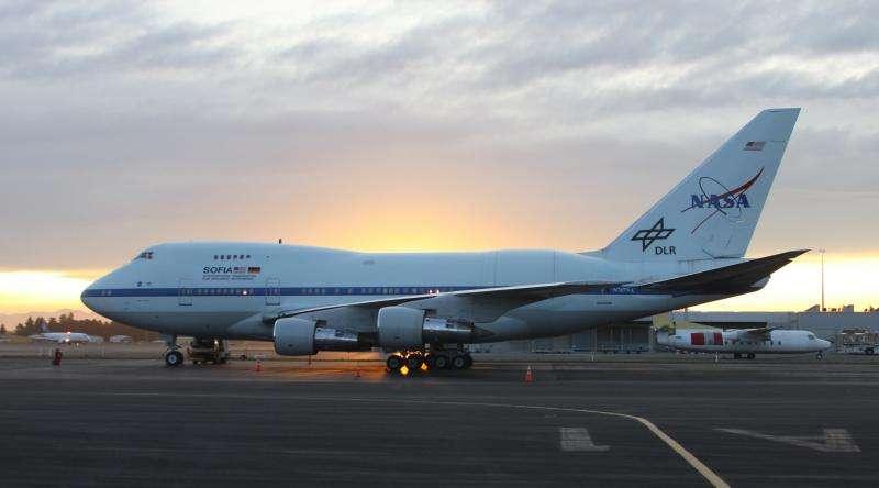 SOFIA Begins 2015 Southern Hemisphere Science Flights