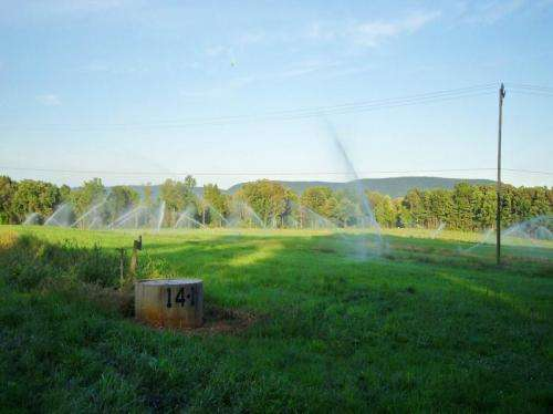 Soils could keep contaminants in wastewater from reaching groundwater, streams
