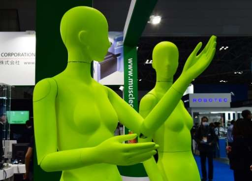 Some 450 companies unveiled their latest droids at the International Robot Exhibition in Tokyo, on December 2, 2015