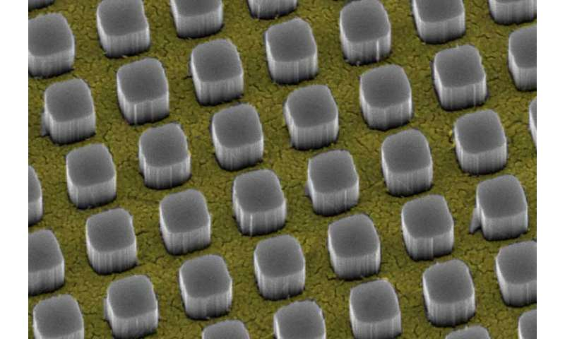 Stanford technology makes metal wires on solar cells nearly invisible to light