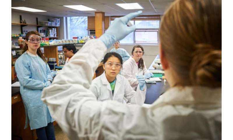 Students search the soil for new antibiotics