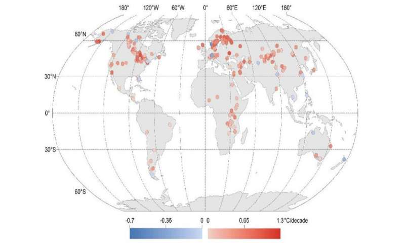 Study: Climate change rapidly warming world's lakes
