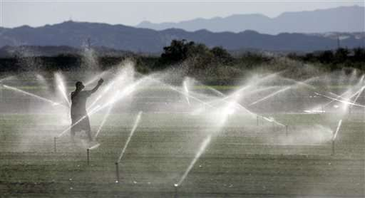 Study finds contaminants in California public-water supplies