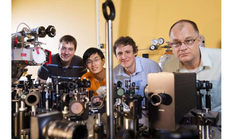 Study points way toward 'filming' molecule-light interactions