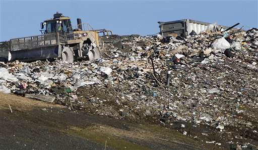Study: US puts twice as much trash in landfills than thought