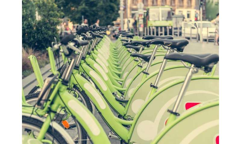 Sun Belt cities' bike-share users more likely to bike for recreation